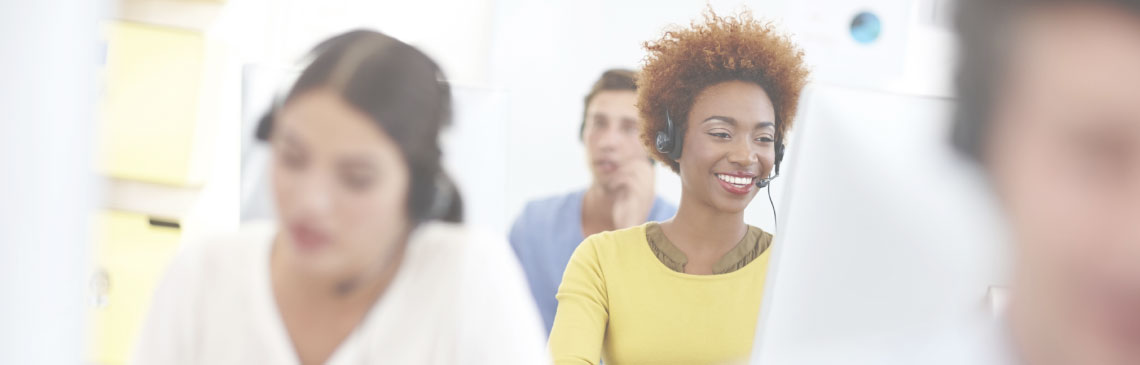 black-female-education-recruitment-consultant-with-headset
