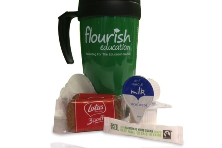 Flourish Education Tea and Mug kit