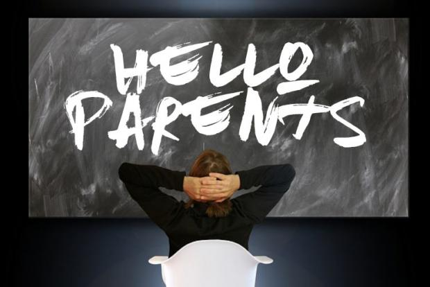 Parents Evening Welcome Sign Cqg2